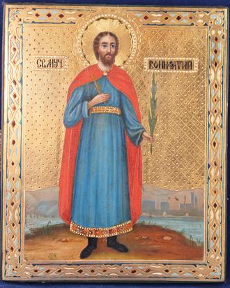 Икона Святой Великомученик Вонифатий