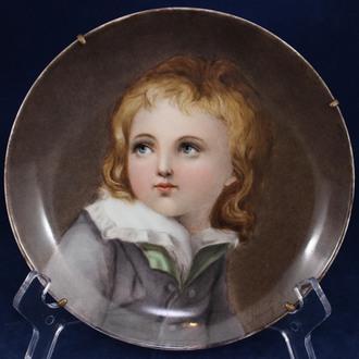 "Настенная тарелка ""Портрет ребенка"""